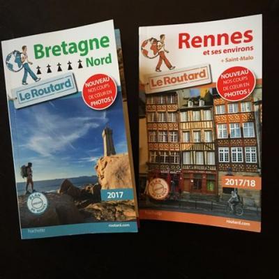 Guide du routard rennes et bretagne nord