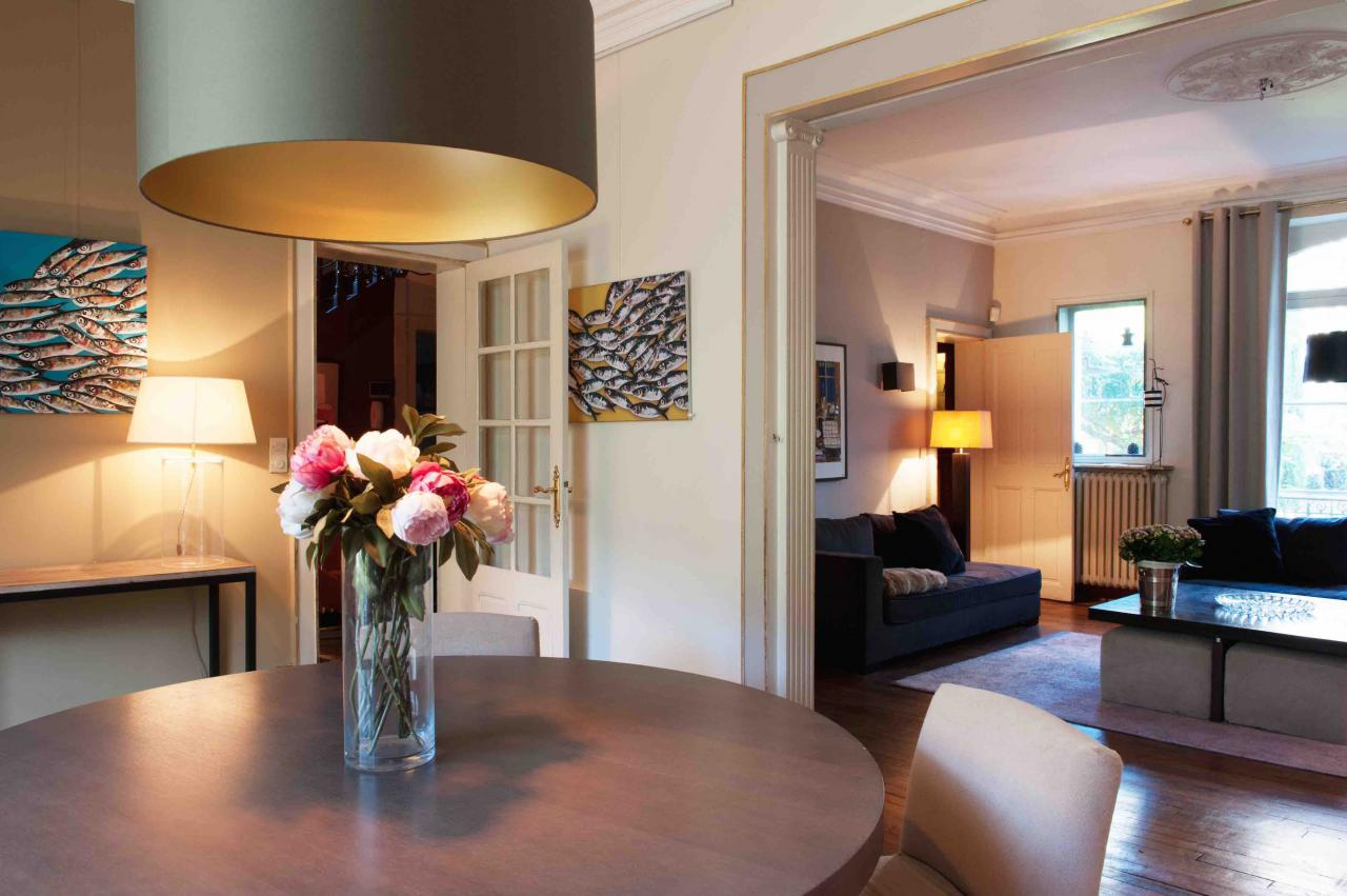 chambres d'hôtes dans un hôtel particulier de rennes