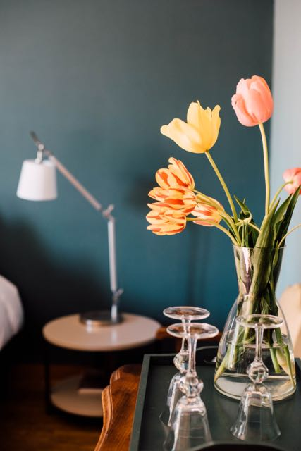 Chambre dufy tulipe maison d hotes rennes bretagne france bd
